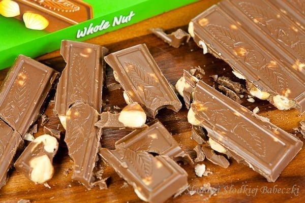 Czekolady Fin Carre - czekolada z orzechami