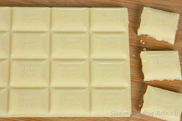 Czekolady Fin Carre - biała czekolada
