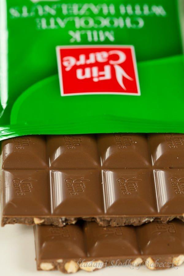 Czekolady Fin Carre - czekolada orzechowa