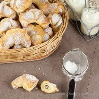 Croissants frail-yeast | Yeast growing