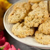 Oatmeal cookies and Oatmeal Cookies