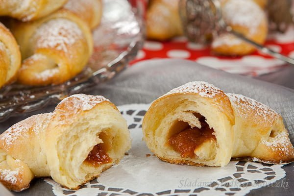 Rogaliki topione   Croissant melted