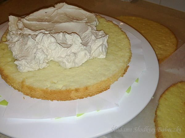 Tort z kremem milky way | Birthday cake with cream milky way