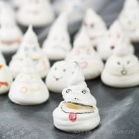 Bezowe duszki after Halloween | Meringue ghost