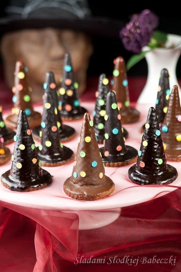 Kapelusze czarownicy | Witch hut cookies