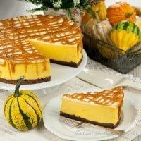 Sernik dyniowy | Pumpkin cheesecake