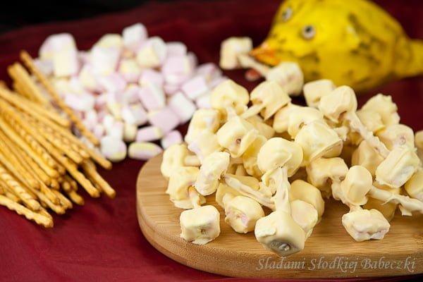 Słodkie kosteczki na halloween | Sweet bones for halloween