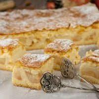 Ewelina's apple pie with custard | Ewelina's apple pie with custard