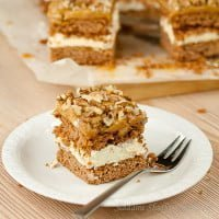 Ciasto toffi (krówka) | Toffi cake