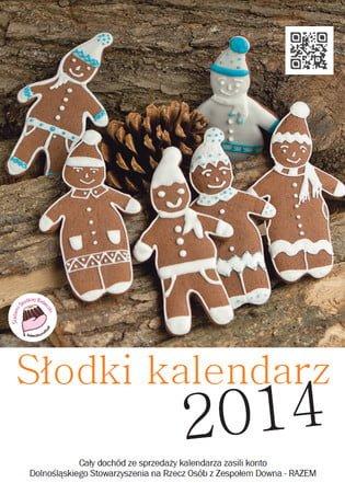 Słodki Kalendarz 2014 - okładka