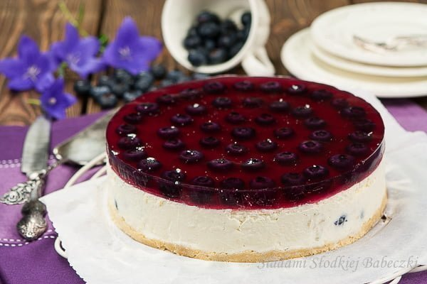 Vanilla cheesecake cold