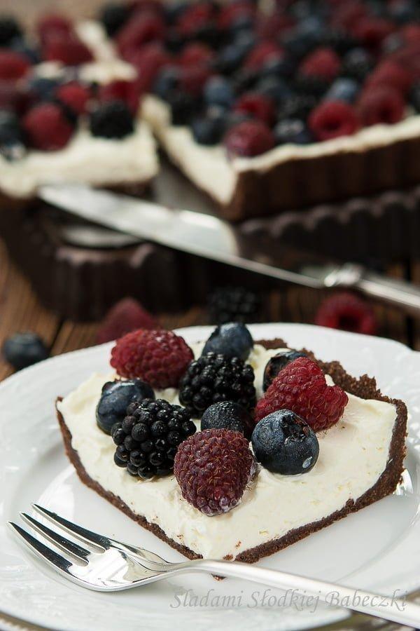 Tarta z mascarpone bez pieczenia