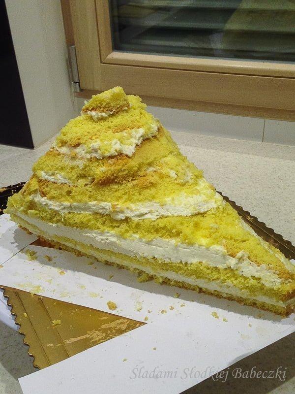 Tort - bukiet kwiatów