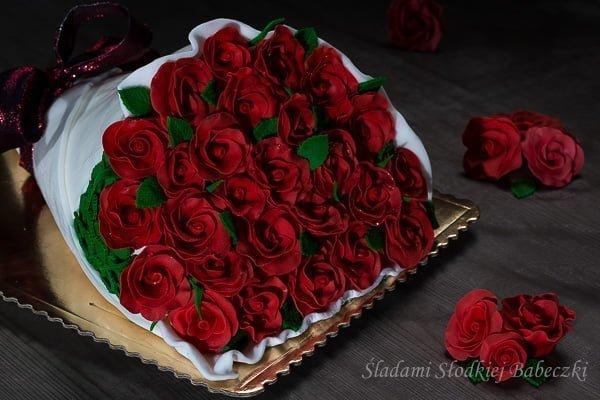 Tort - bouquet of flowers