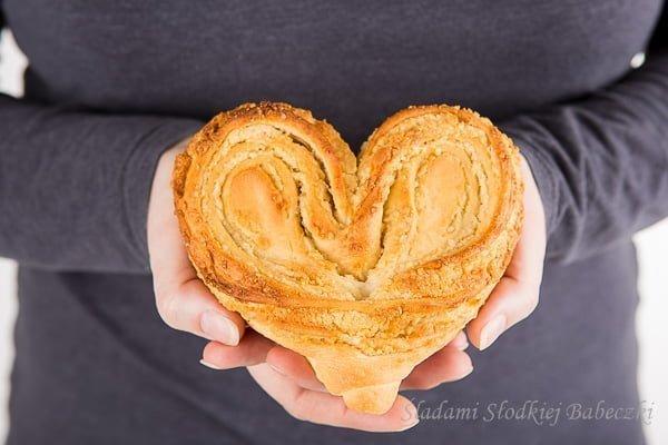 Drożdżowe serca