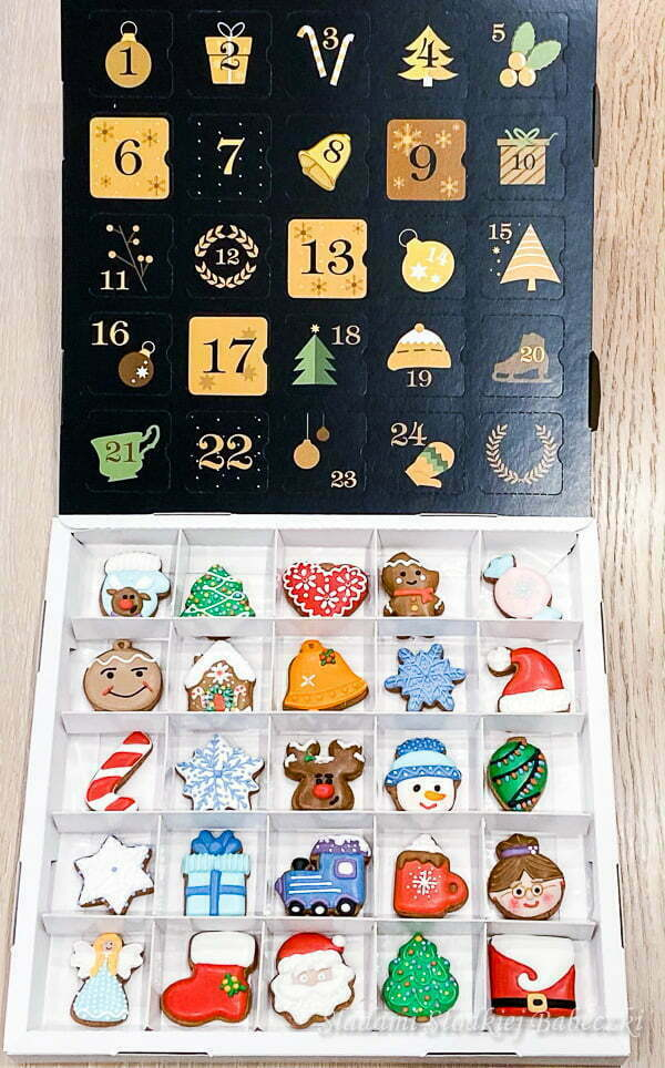 Advent calendar on request