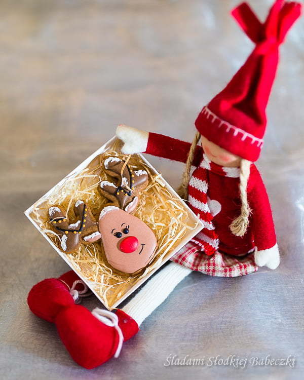 Iced gingerbread as a gift